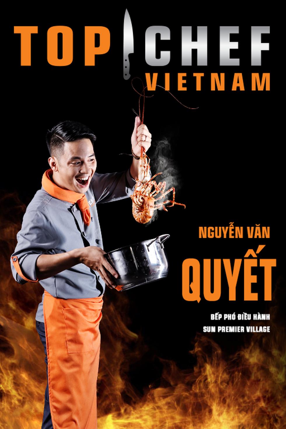 Lộ diện top 14 Đầu bếp thượng đỉnh - Top chef Vietnam 2019 - Ảnh 15.