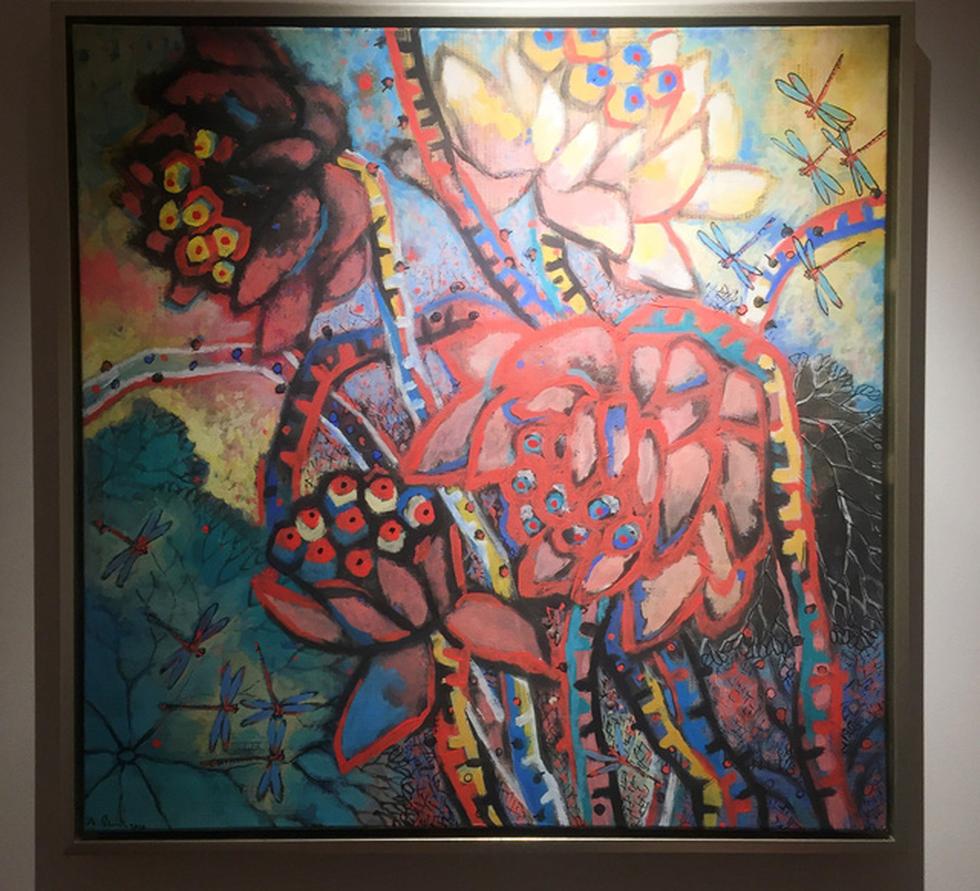 Bến mơ của Đặng Dương Bằng: hoa sen mọc ở xứ người - Ảnh 3.