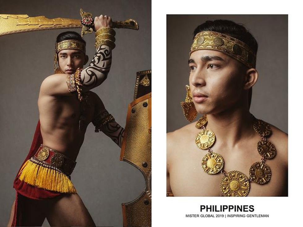 Mister Global khoe dàn hotboy diện trang phục truyền thống nhưng quá nóng - Ảnh 7.