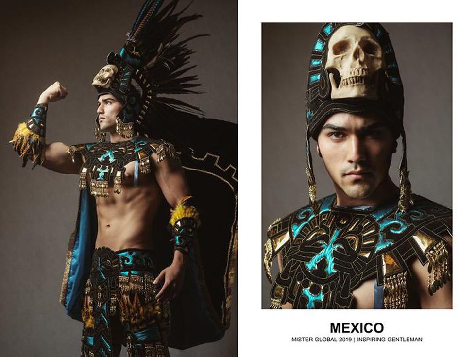 Mister Global khoe dàn hotboy diện trang phục truyền thống nhưng quá nóng - Ảnh 11.
