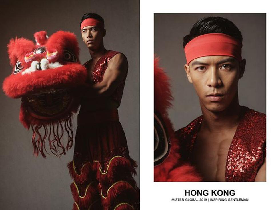 Mister Global khoe dàn hotboy diện trang phục truyền thống nhưng quá nóng - Ảnh 16.