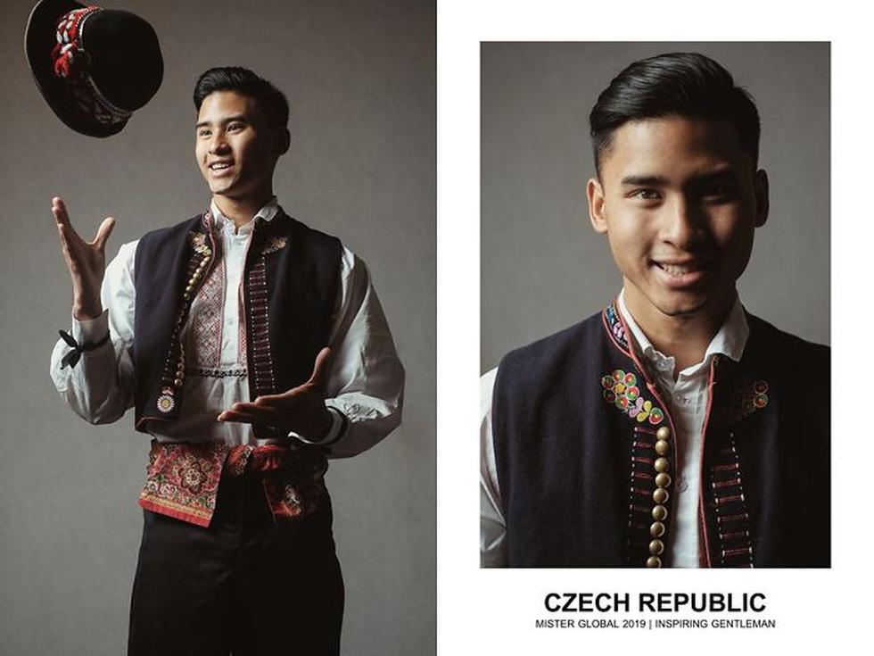 Mister Global khoe dàn hotboy diện trang phục truyền thống nhưng quá nóng - Ảnh 21.