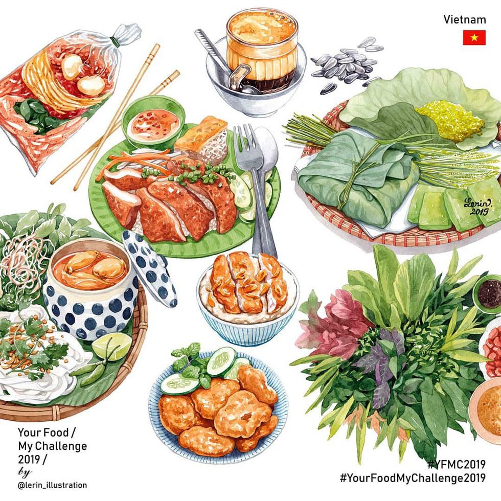 Chết thèm với thế giới món ăn trên tranh của chàng trai Việt - Ảnh 8.