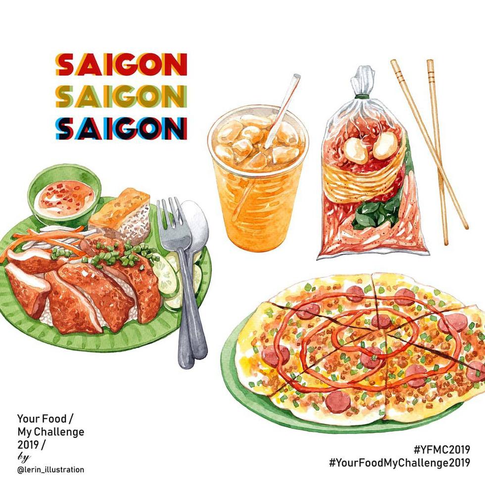 Chết thèm với thế giới món ăn trên tranh của chàng trai Việt - Ảnh 10.