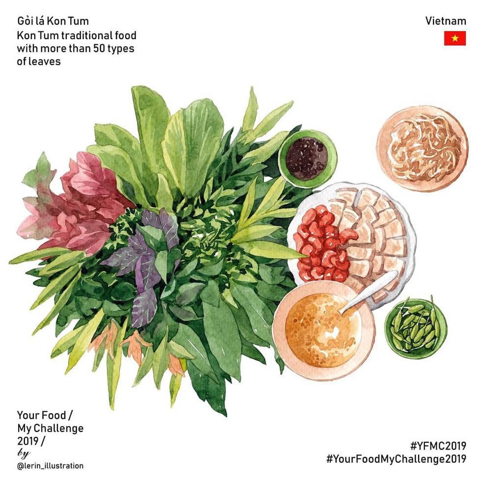 Chết thèm với thế giới món ăn trên tranh của chàng trai Việt - Ảnh 9.