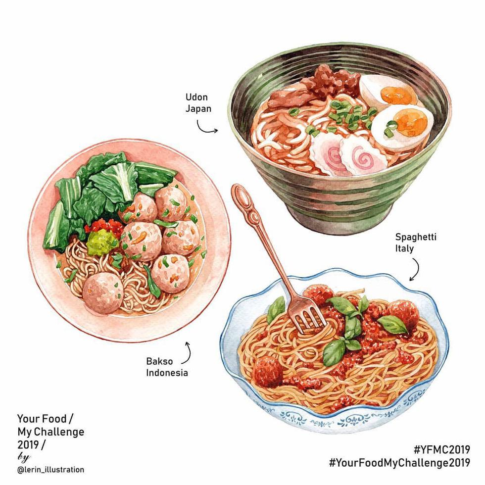 Chết thèm với thế giới món ăn trên tranh của chàng trai Việt - Ảnh 6.