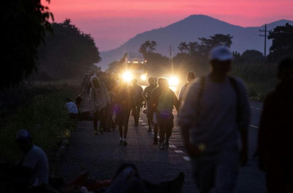 Bộ ảnh 'Đoàn người di cư' thắng giải Ảnh báo chí Quốc tế - Ảnh 7.