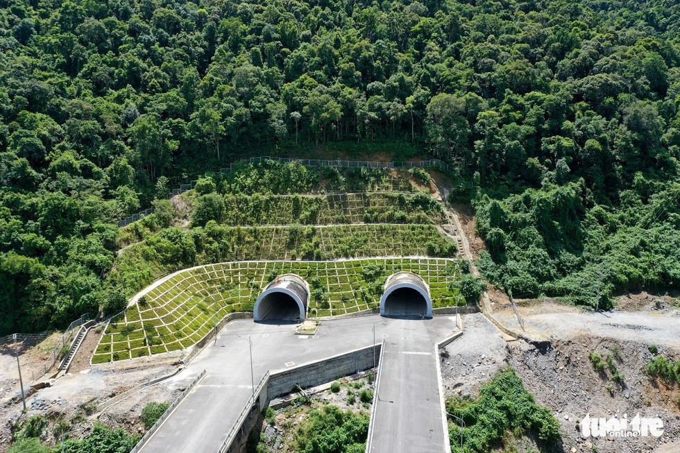 Ngắm cao tốc La Sơn - Túy Loan xuyên vườn quốc gia Bạch Mã - Ảnh 6.