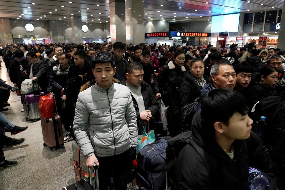 Trung Quốc vào cuộc 'Xuân vận' lớn nhất hành tinh với 3 tỉ chuyến về quê ăn Tết - Ảnh 6.