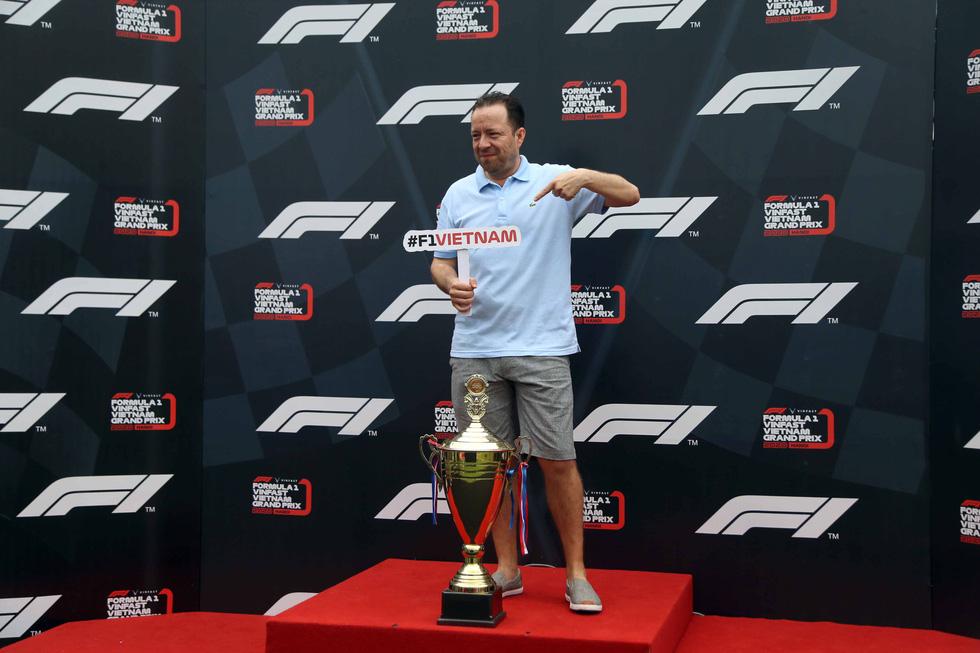 Sôi động chương trình chào đón đua xe công thức 1 tại TP.HCM - Ảnh 10.