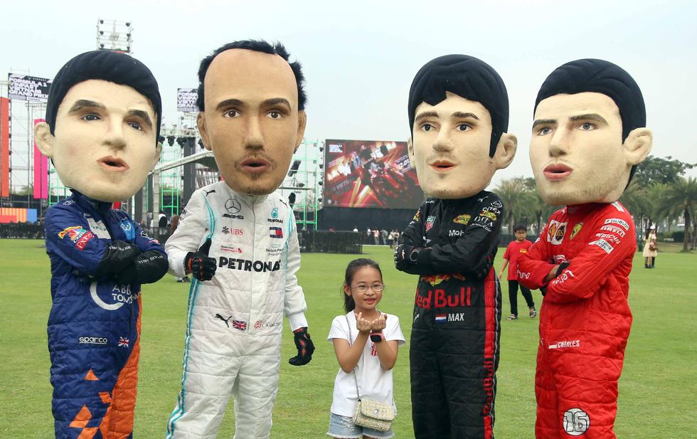 Sôi động chương trình chào đón đua xe công thức 1 tại TP.HCM - Ảnh 3.