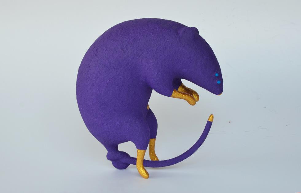 Ấn tượng tranh chuột đón xuân Canh Tý của họa sĩ ba miền - Ảnh 5.