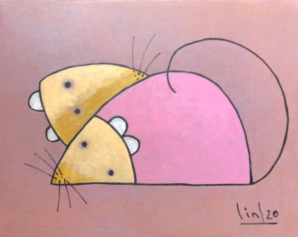 Ấn tượng tranh chuột đón xuân Canh Tý của họa sĩ ba miền - Ảnh 8.
