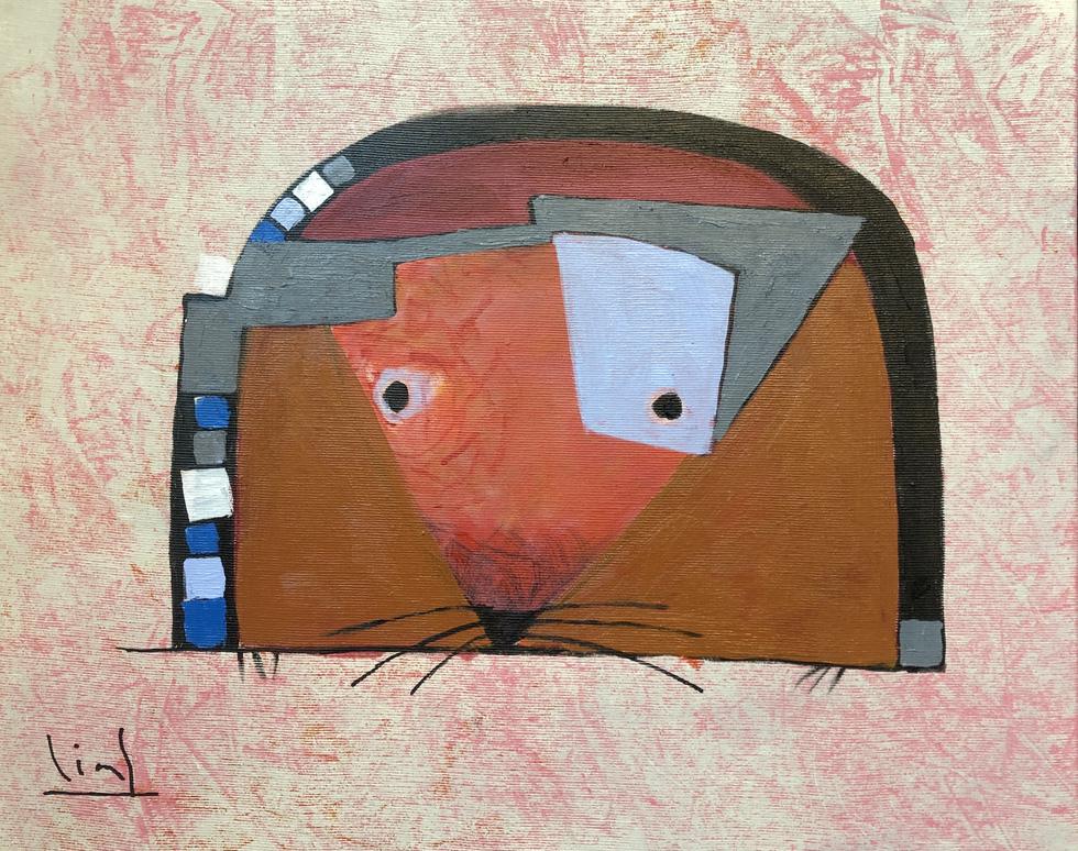 Ấn tượng tranh chuột đón xuân Canh Tý của họa sĩ ba miền - Ảnh 14.