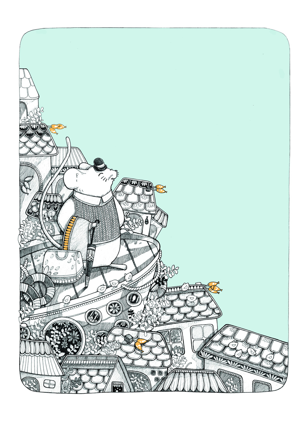 Ấn tượng tranh chuột đón xuân Canh Tý của họa sĩ ba miền - Ảnh 12.