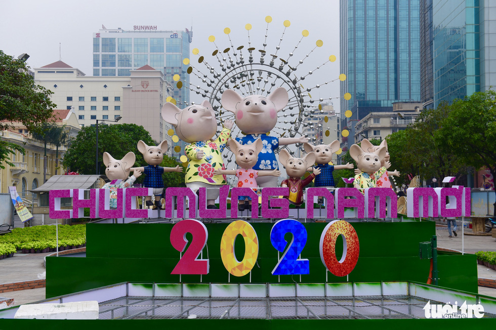 Đường hoa Nguyễn Huệ 2020 dự kiến xong từ 26 Tết - Ảnh 8.