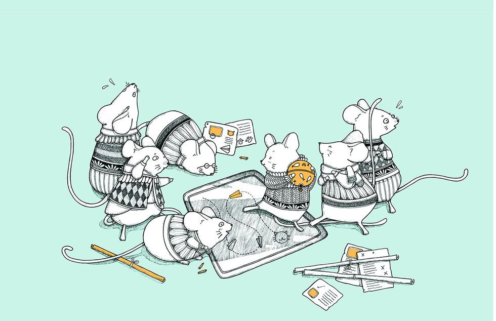 Ấn tượng tranh chuột đón xuân Canh Tý của họa sĩ ba miền - Ảnh 3.