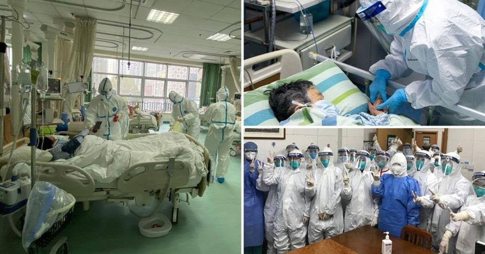 Những gì diễn ra bên trong bệnh viện tại Vũ Hán? - Ảnh 1.