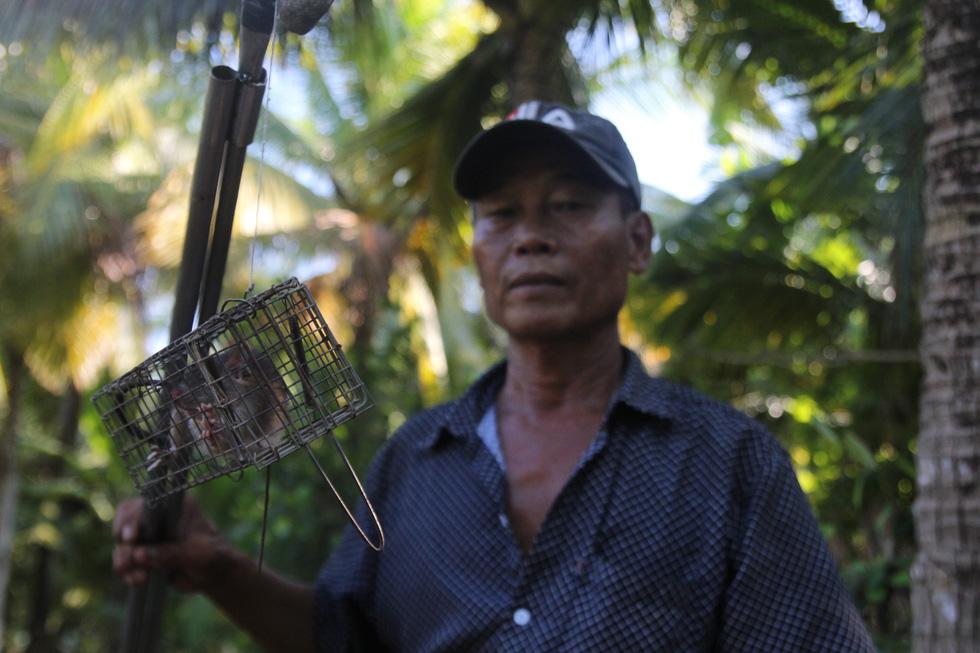 Đặt chuột dừa thu nhập tiền triệu mỗi ngày - Ảnh 4.