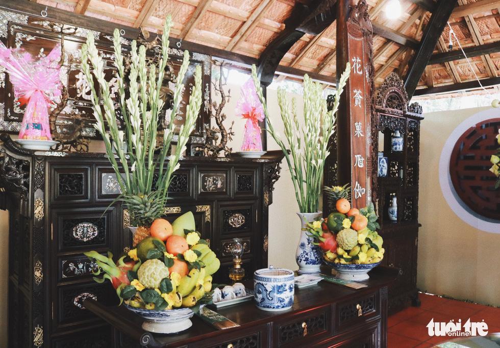 Trưng bày mâm cỗ, mâm ngũ quả 3 miền trong Lễ hội Tết Việt - Ảnh 7.