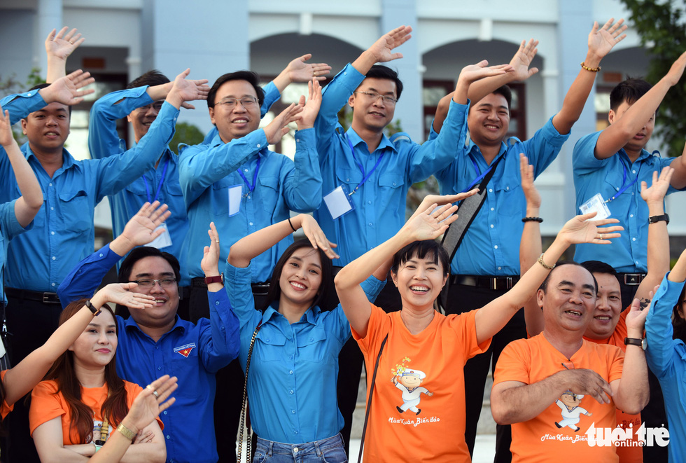 Mùa xuân biển đảo lần 9: Bên vịnh Phan Thiết, bâng khuâng nhớ Trường Sa - Ảnh 6.