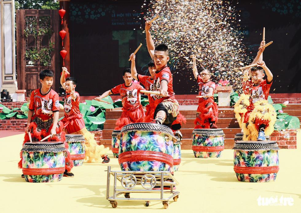 Trưng bày mâm cỗ, mâm ngũ quả 3 miền trong Lễ hội Tết Việt - Ảnh 10.