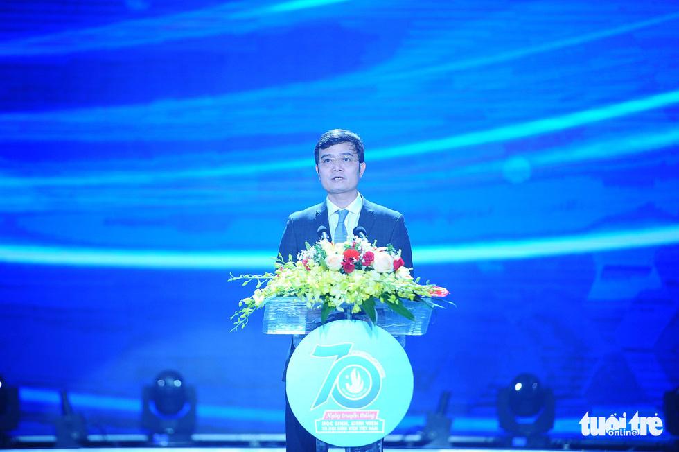Hội Sinh viên Việt Nam đón nhận Huân chương Độc lập hạng nhất lần 2 - Ảnh 6.