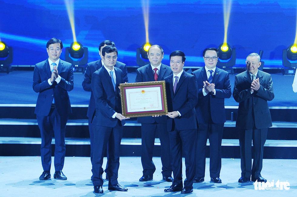 Hội Sinh viên Việt Nam đón nhận Huân chương Độc lập hạng nhất lần 2 - Ảnh 1.