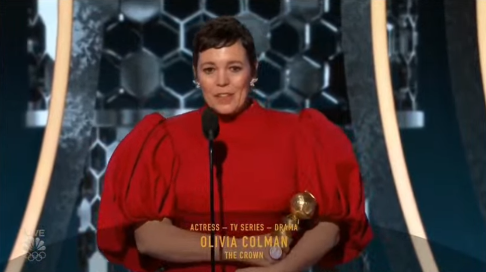Olivia Colman phim The Crown