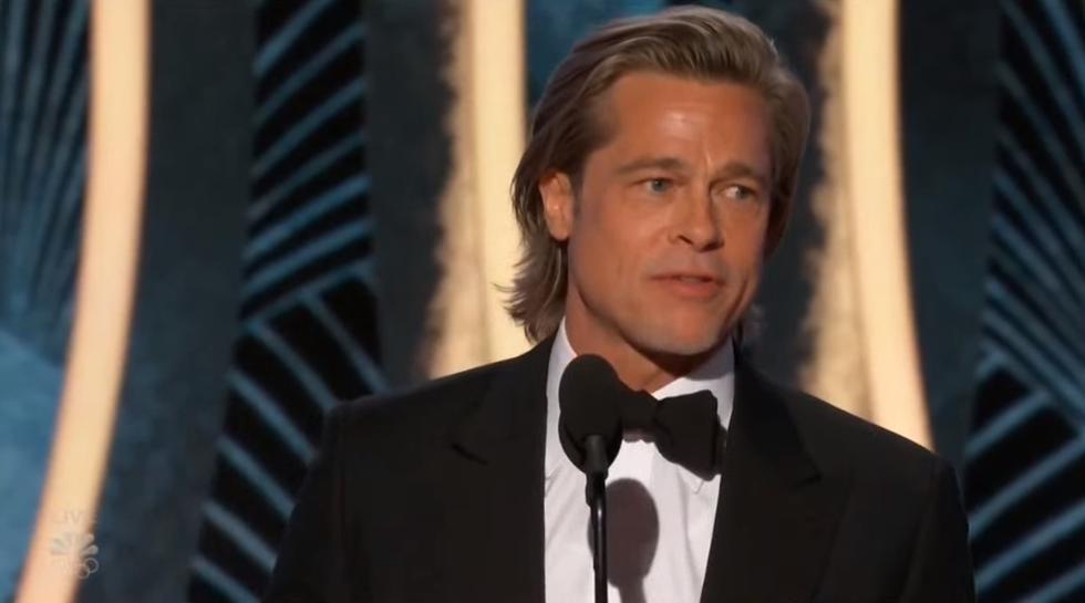 Nam diễn viên Brad Pitt giành Nam diễn viên phụ xuất sắc nhất Best Supporting Actor in a Motion Picture cho vai diễn của anh trong once Upon a Time in Hollywood