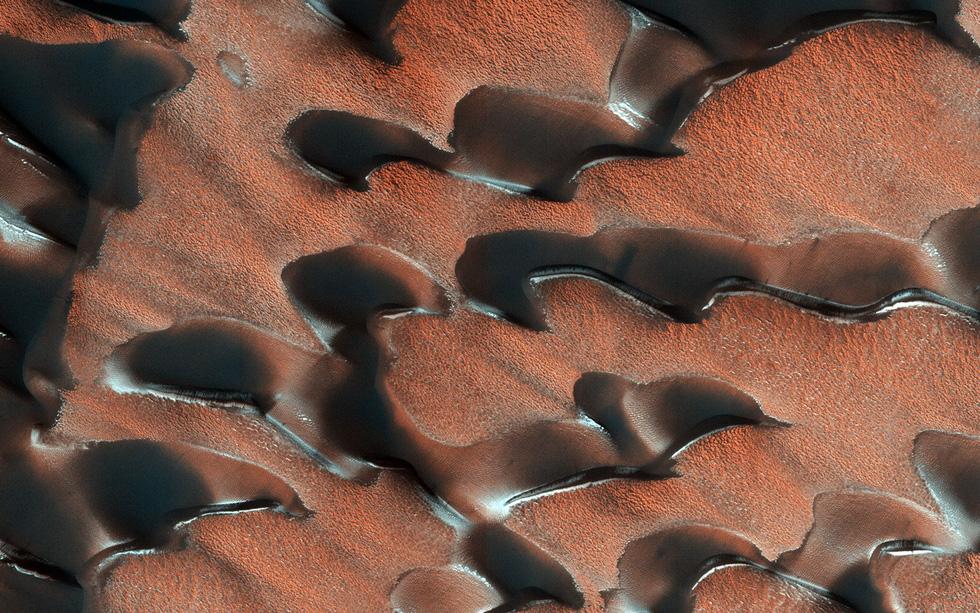 Mùa đông trên sao Hỏa như thế nào? - Ảnh 1.