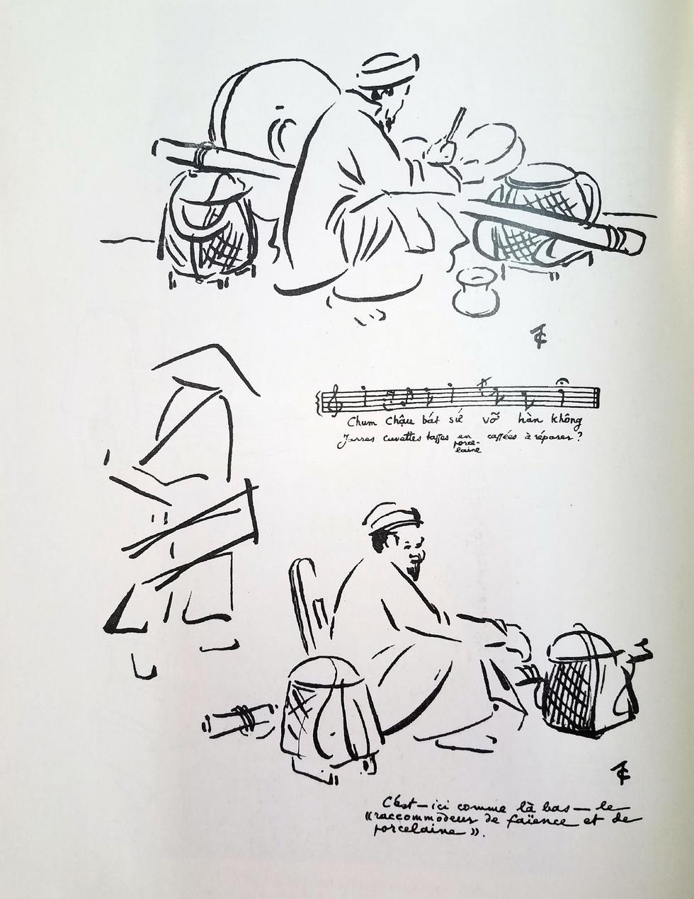Ngắm hàng rong và nghe tiếng rao hàng trên phố Hà Nội xưa - Ảnh 13.