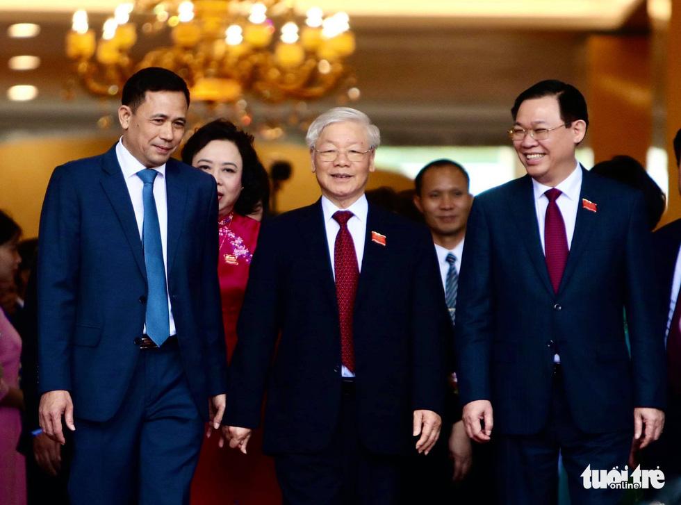 Tổng bí thư, Chủ tịch nước Nguyễn Phú Trọng dự, chỉ đạo Đại hội Đảng bộ Hà Nội - Ảnh 1.