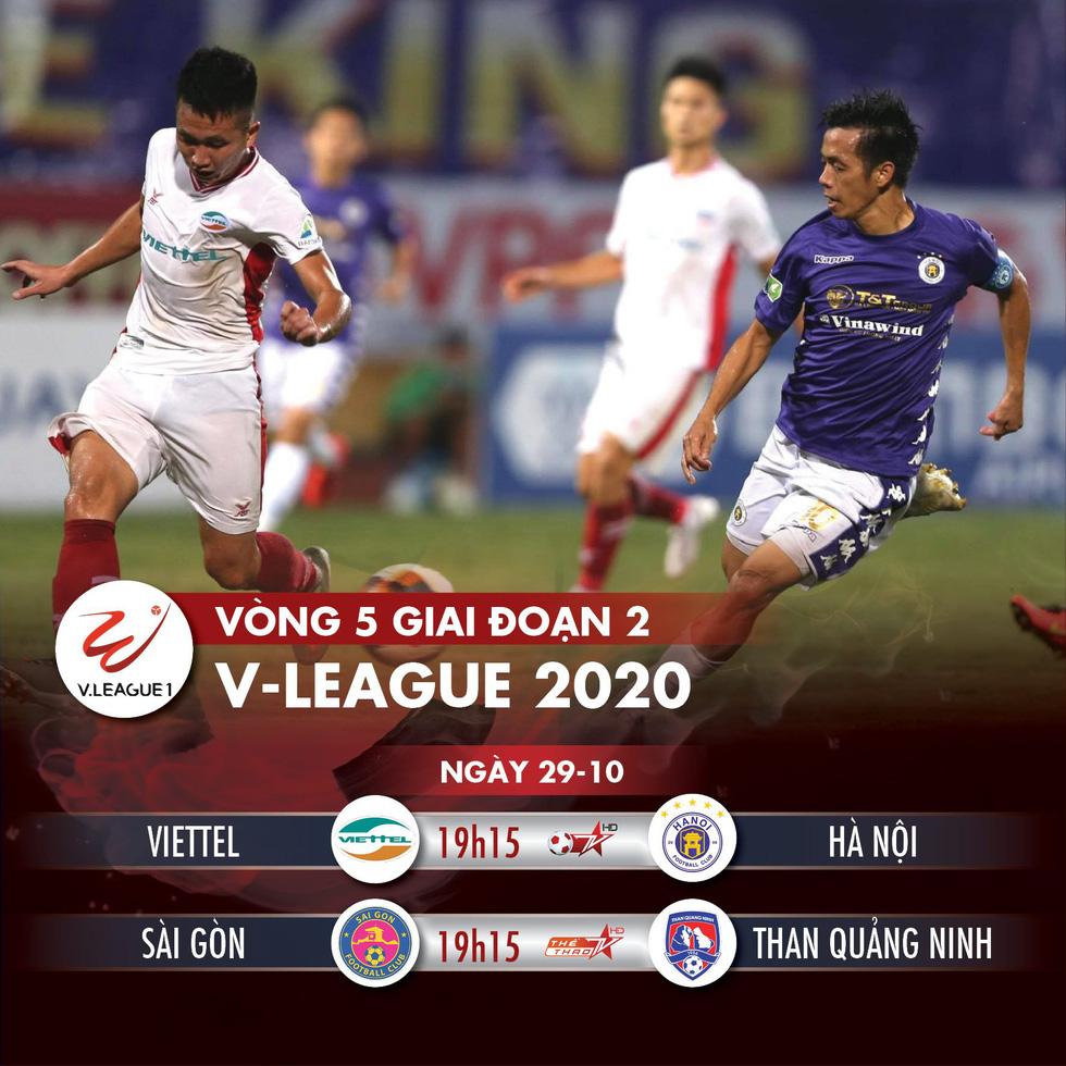 Hòa Viettel, CLB Hà Nội bị Sài Gòn vượt mặt trên bảng điểm - Ảnh 32.