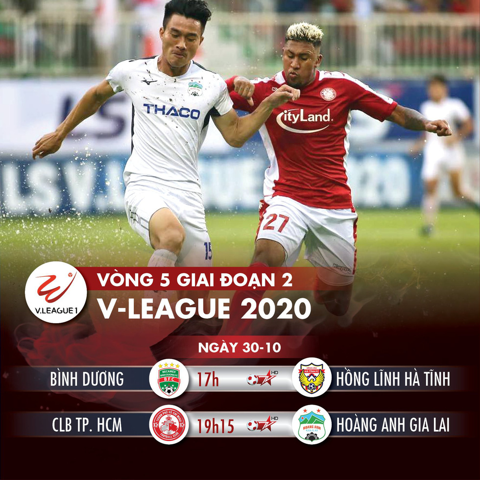 Lịch trực tiếp V-League 2020: CLB TP.HCM gặp HAGL - Ảnh 1.