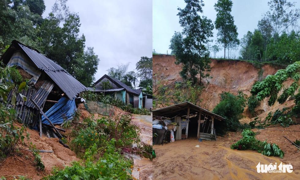 Mưa lớn dồn dập, nhà dân Nghệ An ngập tới nóc, huy động xe cứu hỏa cứu người - Ảnh 10.