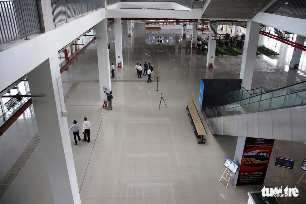 Cận cảnh bến xe Miền Đông mới hiện đại và lớn nhất nước - Ảnh 5.