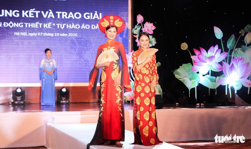 'Hoàng Thành Thăng Long' giải nhất 'Tự hào áo dài Việt' - Ảnh 1.
