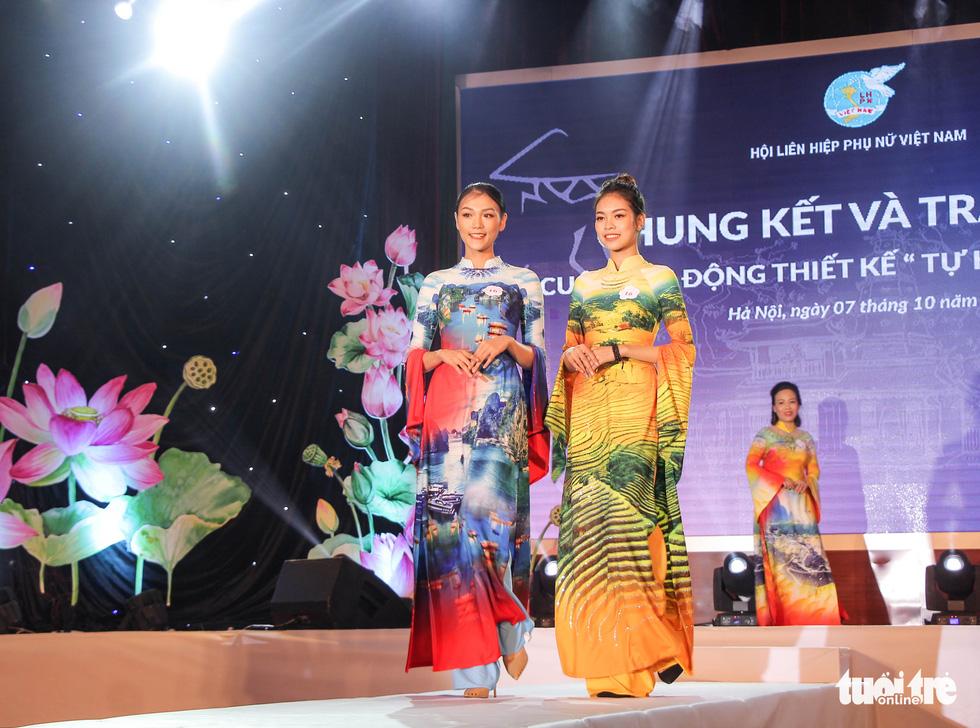 'Hoàng Thành Thăng Long' giải nhất 'Tự hào áo dài Việt' - Ảnh 8.