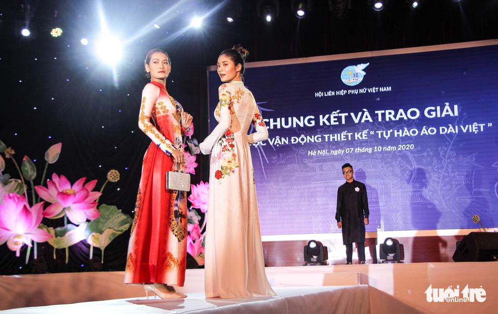 'Hoàng Thành Thăng Long' giải nhất 'Tự hào áo dài Việt' - Ảnh 7.