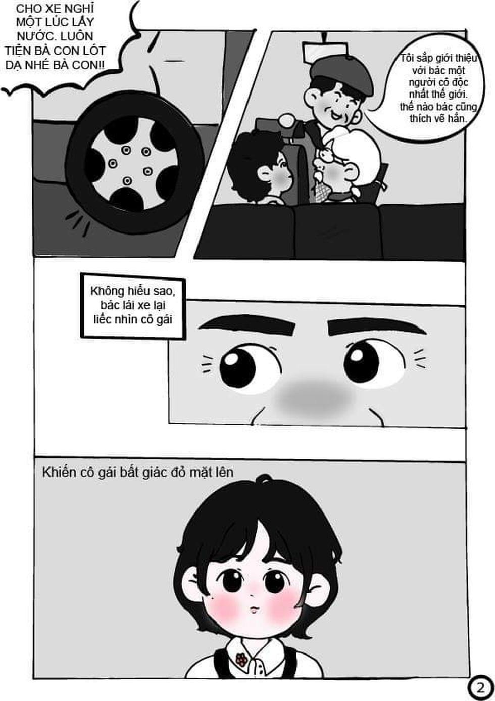 Học sinh lớp 9 TP.HCM 'sản xuất' truyện tranh Lặng lẽ Sa Pa - Ảnh 3.