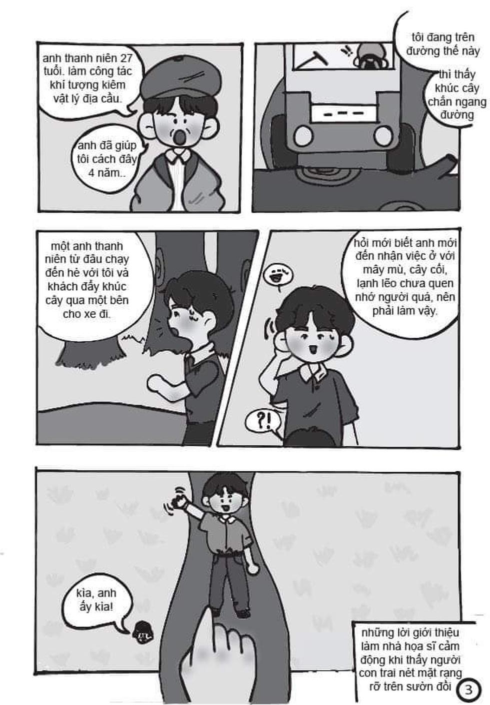 Học sinh lớp 9 TP.HCM 'sản xuất' truyện tranh Lặng lẽ Sa Pa - Ảnh 4.