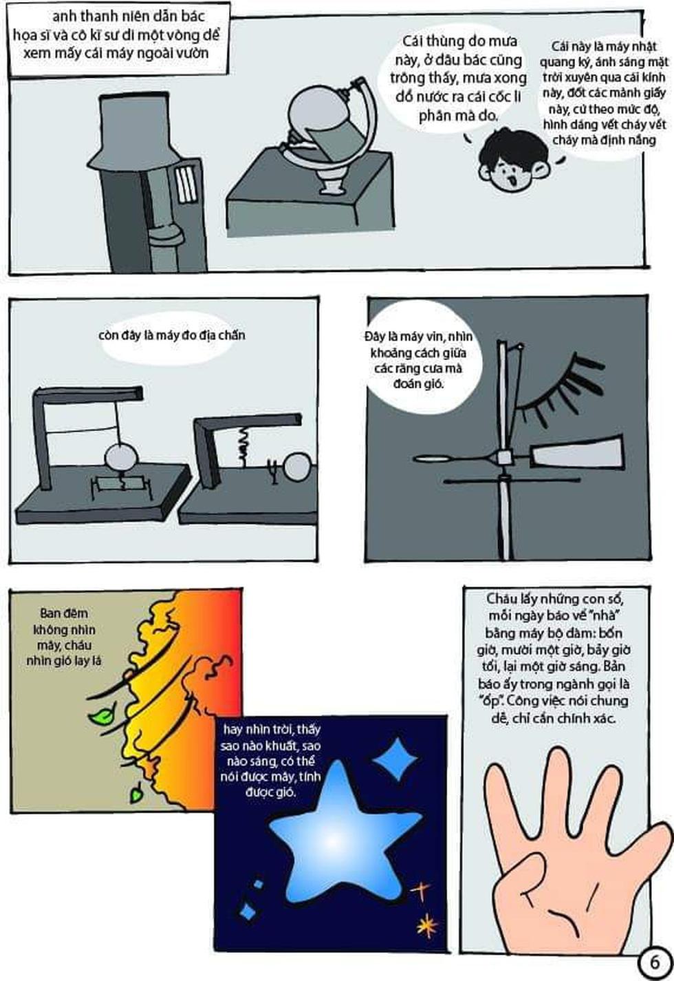 Học sinh lớp 9 TP.HCM 'sản xuất' truyện tranh Lặng lẽ Sa Pa - Ảnh 5.