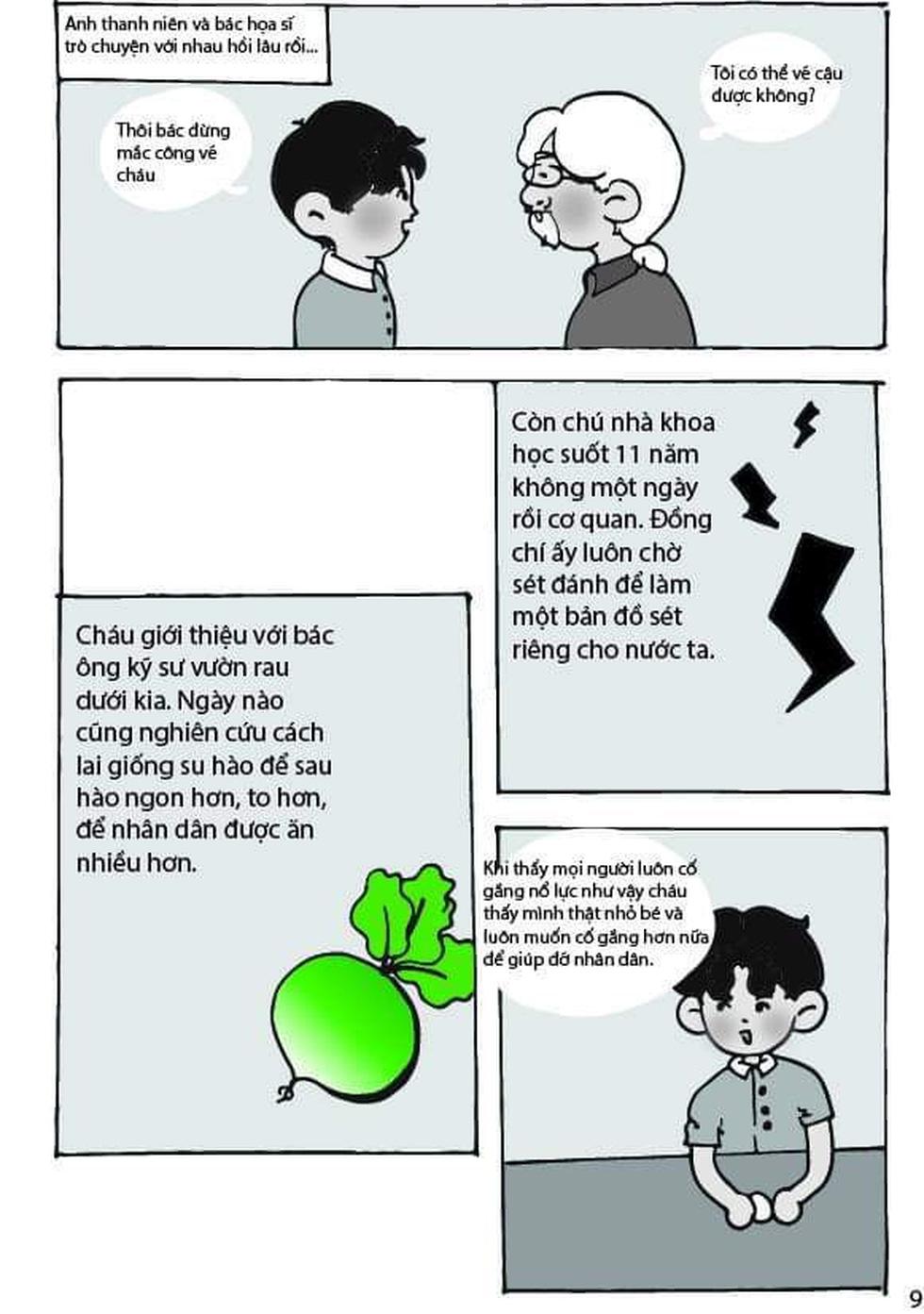 Học sinh lớp 9 TP.HCM 'sản xuất' truyện tranh Lặng lẽ Sa Pa - Ảnh 6.