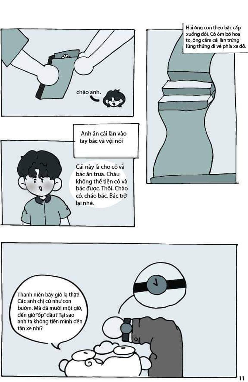 Học sinh lớp 9 TP.HCM 'sản xuất' truyện tranh Lặng lẽ Sa Pa - Ảnh 7.