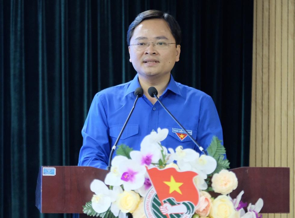 Anh Nguyễn Anh Tuấn được bầu làm bí thư thứ nhất Trung ương Đoàn - Ảnh 4.