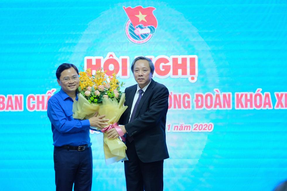 Anh Nguyễn Anh Tuấn được bầu làm bí thư thứ nhất Trung ương Đoàn - Ảnh 3.
