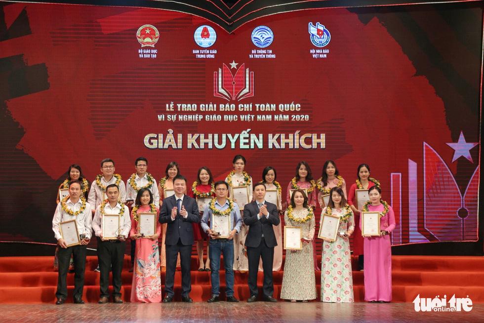 Báo Tuổi Trẻ đạt giải đặc biệt báo chí toàn quốc Vì sự nghiệp giáo dục Việt Nam năm 2020 - Ảnh 5.