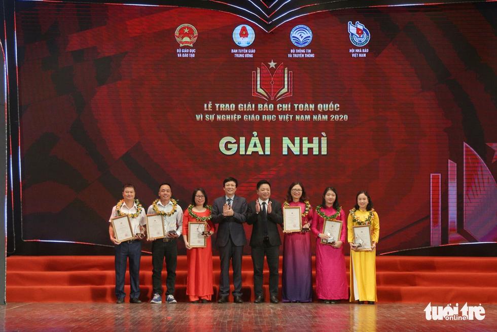 Báo Tuổi Trẻ đạt giải đặc biệt báo chí toàn quốc Vì sự nghiệp giáo dục Việt Nam năm 2020 - Ảnh 3.