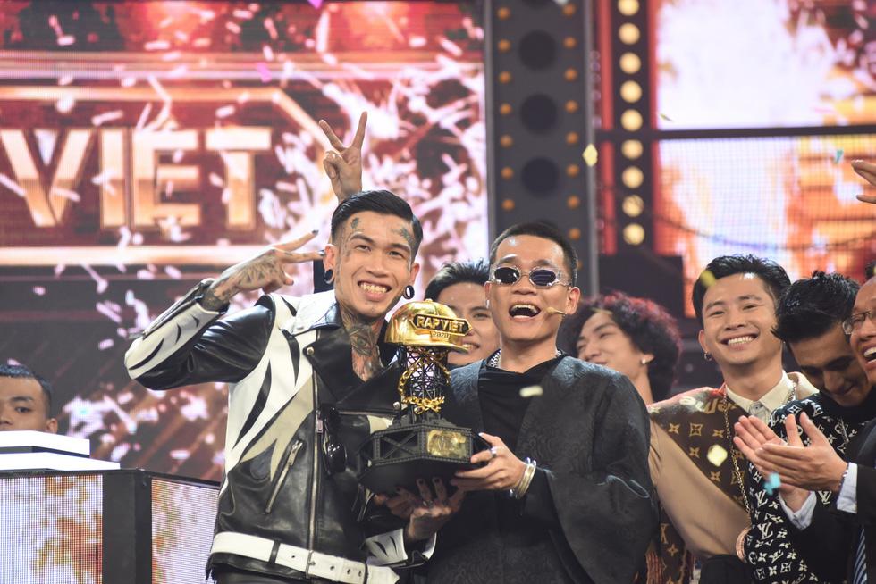 Dế Choắt là quán quân, Rap Việt lập kỷ lục YouTube thế giới - Ảnh 14.